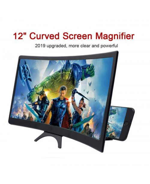3d screen magnifier curved smart phone