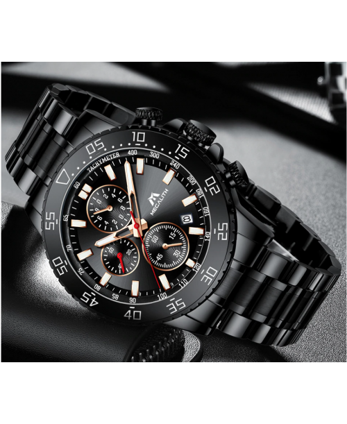 MEGALITH Watches Mens Waterproof watch