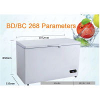 Solar power deep chest freezer 300l
