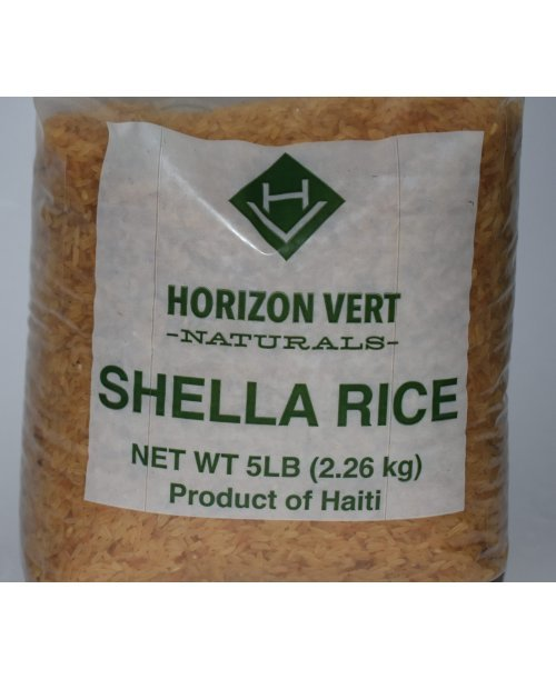 Duriz Shella, Natural rice from Haiti
