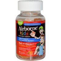 Airborne Vitamin C Gummies for Kids Fruit (1x21 Count)