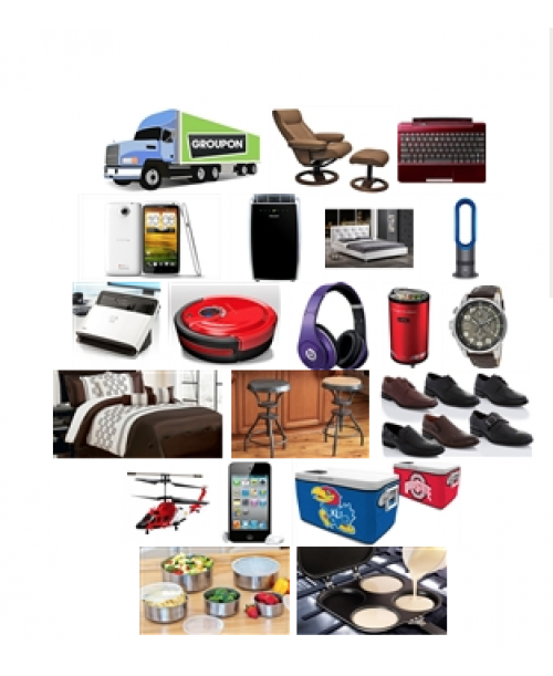 Groupon General Merchandise Truckload mix products
