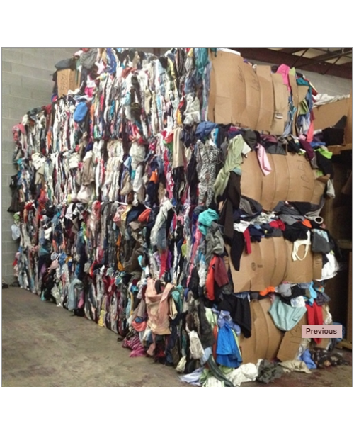 45,000 Lbs Credential Used Clothing