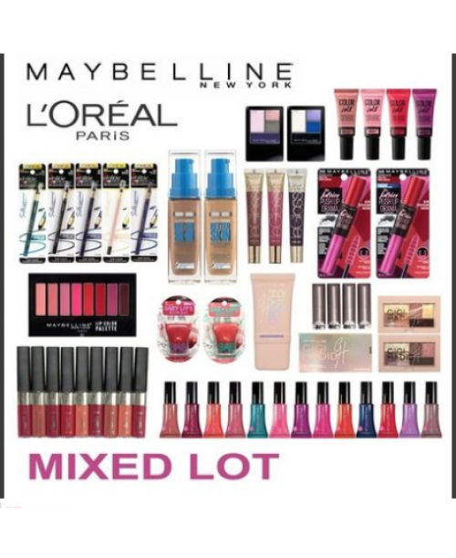100 Pieces Of Lot L'Oreal Maybelline Covergirl