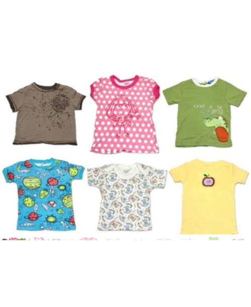 72 Assorted Boy and Girl Baby T-Shirts