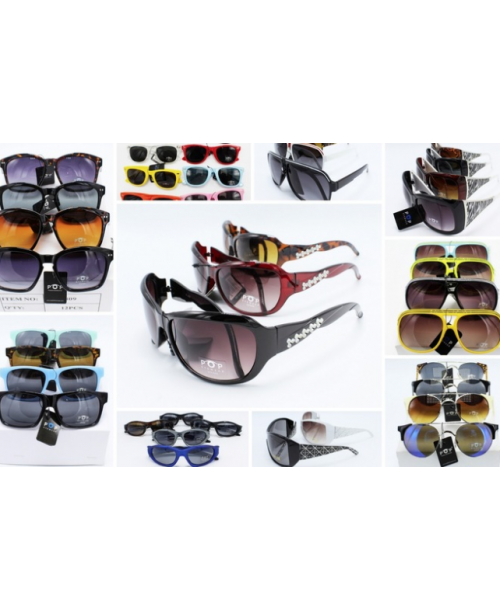 120 New Mixed Sunglasses