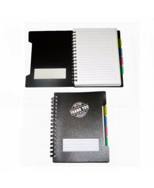 A lot of 100 Spiral Bound Notebook With Dividers